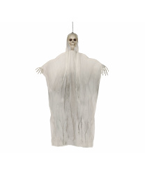 """Подвесная декорация """"Скелет в сером балахоне"""""""