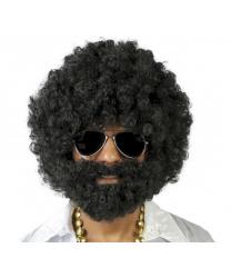 Афро-парик и борода