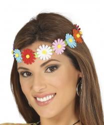 Цветочная повязка на голову