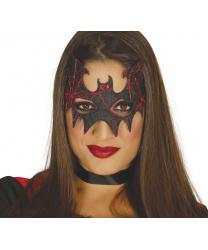 "Черно-красная маска ""Летучая мышь"""