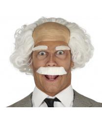 Парик, усы и брови профессора