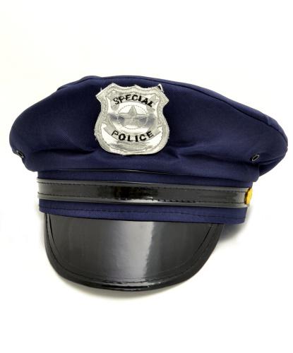 Полицейская фуражка, темно-синяя (Германия)