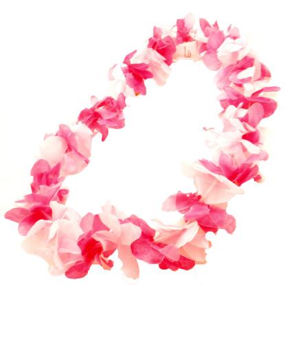 Ярко-розовое гавайское ожерелье (Германия)