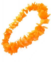 Оранжевое гавайское ожерелье