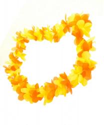 Желтое гавайское ожерелье