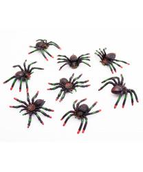 Набор пауков (8 шт)
