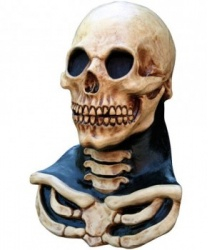 Латексная маска Череп с шеей