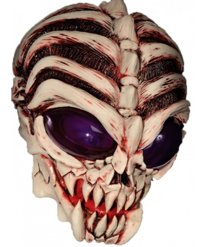 Латексная маска Пришелец, латекс (Германия)