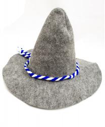 Серая баварская шляпа
