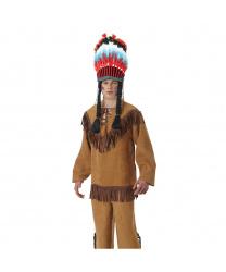 Рубашка Индейца с бахромой