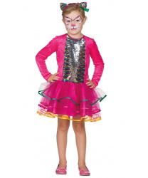 Платье радужной кошечки