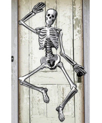 Декорация Скелет из картона
