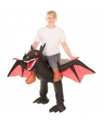 """Детский надувной костюм """"Верхом на драконе"""""""