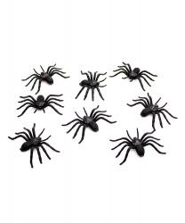 Набор пауков 3 x 6,5 см