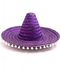 Мексиканская шляпа фиолетовая