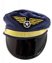 Фуражка пилота (синяя)
