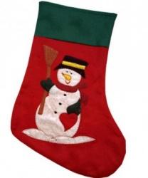 """Новогодний носок """"Снеговик"""""""