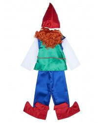 Детский костюм гнома (с рыжей бородой)