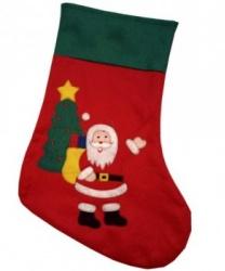 Новогодний носок Дед Мороз