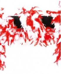 Боа красное и белое - Боа, арт: 4501