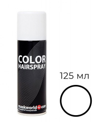 Белая спрей-краска для волос