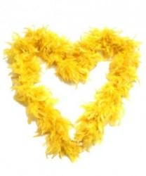 Боа желтое