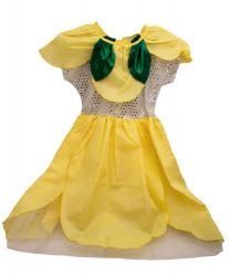 """Платье """"Цветочек"""", желтое"""