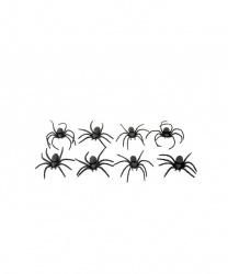 Набор пауков 8шт