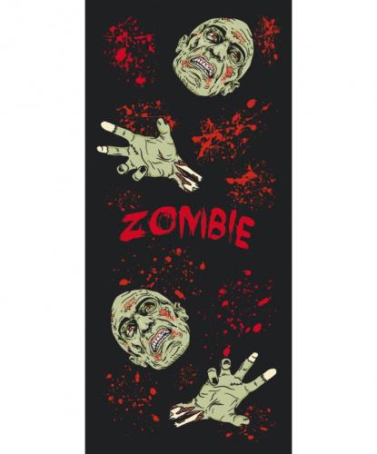Подвесной баннер Зомби