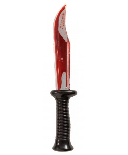Нож с кровью