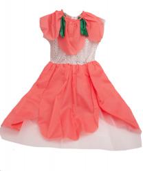 """Платье """"Цветочек"""", коралловое"""