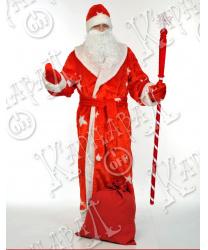 Дед мороз мех.красный