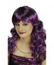 Парик фиолетового оттенка Susi: фиолетовый, черный (Франция)