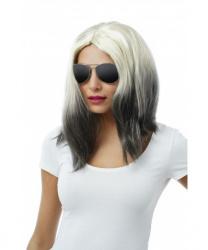 """Парик блондинки с темными волосами на концах """"Marleen"""""""