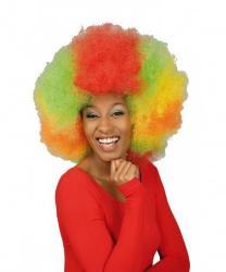 Парик Разноцветное афро