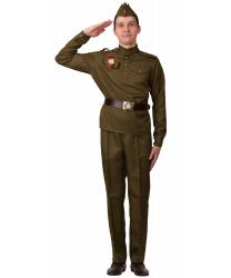 """Костюм """"Солдат"""", прямые брюки"""