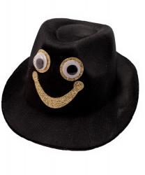 """Мини-шляпка """"Смайлик"""""""