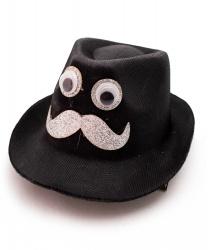 """Мини-шляпка """"Усач"""""""