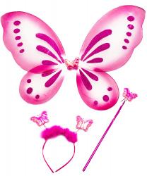 Набор розовой бабочки