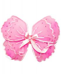 Детские крылья розовой бабочки