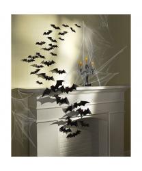 Летучие мыши из картона