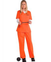 Костюм заключенной, оранжевый