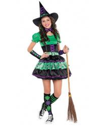 Подростковый костюм ведьмочки