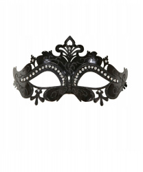 Черная маска на бал-маскарад