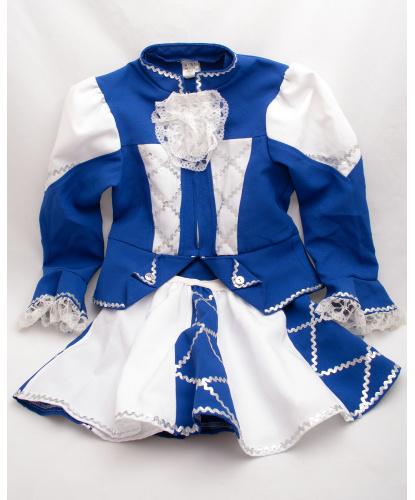 Костюм карнавальной танцовщицы: кофта, юбка (Нидерланды)