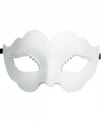Белая венецианская маска