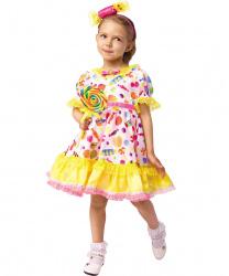Платье конфетки с ободком
