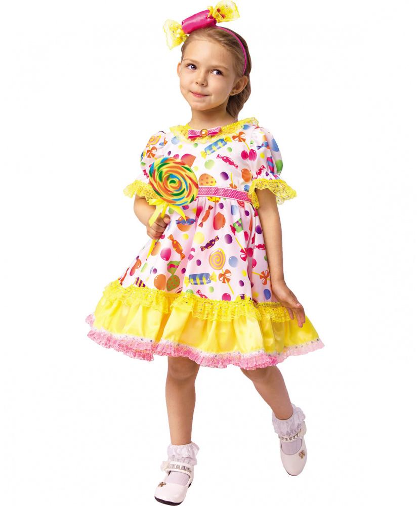 Платье конфетки с ободком: платье, ободок (Россия) купить