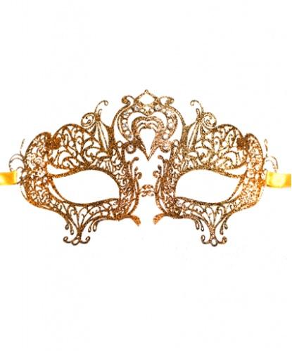 Золотая маска Colombina Cuore