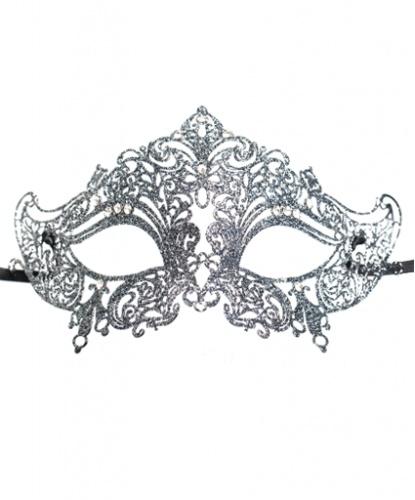Венецианская маска Giglio, серебро, металл (Италия)